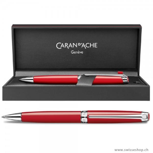 Carandache Kugelschreiber LÉMAN Scarlet Red Kugelschreiber
